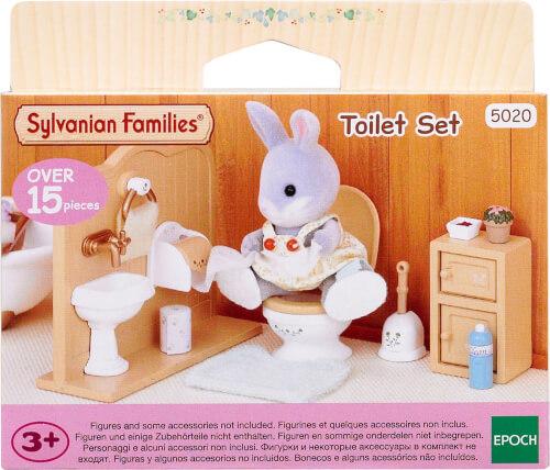 EPOCH Sylvanian Families 5020 Toiletten-Set