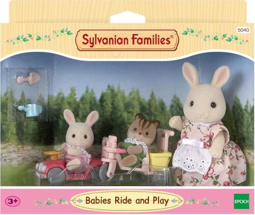 Sylvanian Families 5040 Sylvanian Families Babys Fahr und Spiel-Set