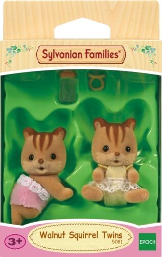Sylvanian Families 5081 Walnuss Eichhörnchen Zwillinge