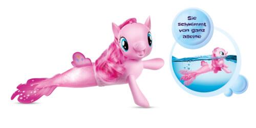 Hasbro C0677EU4 My Little Pony Movie - Schwimmendes Seepony Pinkie Pie, ab 3 Jahren