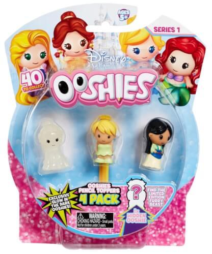 Ooshies - Disney Princess - 4er Pack