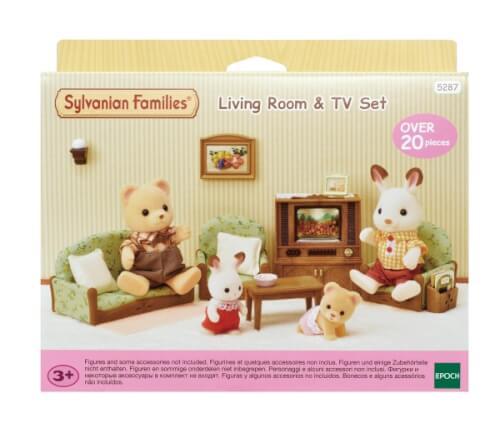Sylvanian Families 5287 Wohnzimmer & Fernseh-Set