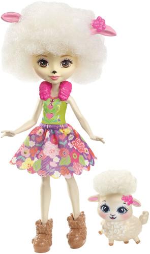 Mattel FNH25 Enchantimals Schafmädchen Lorna Lamb