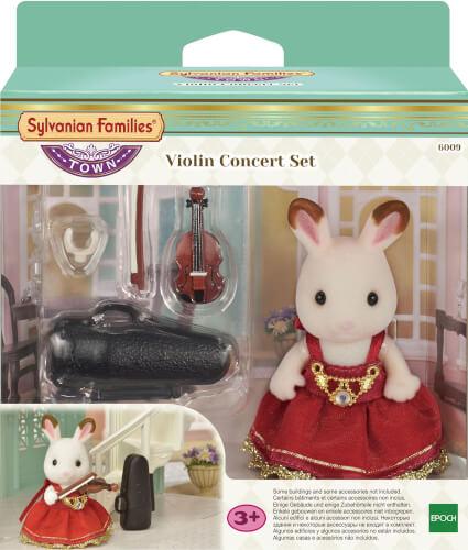 Sylvanian Families Violinenkonzert Set (inkl. 1 Figur)