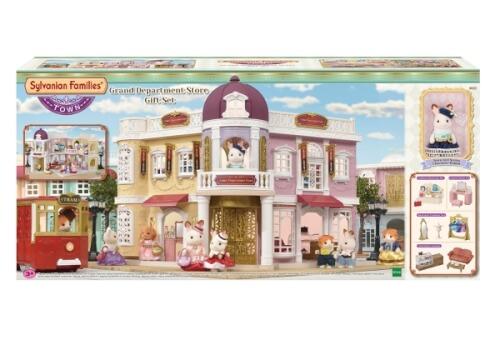 Sylvanian Families Einkaufszentrum ''Wunschbrunnen'' Geschenkset (inkl. 1 Figur)
