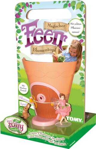 TOMY, Magischer Feen Blumentopf (mit Samen)