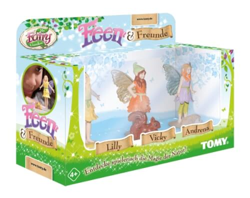 TOMY, My Fairy Garden,Feen & Freunde