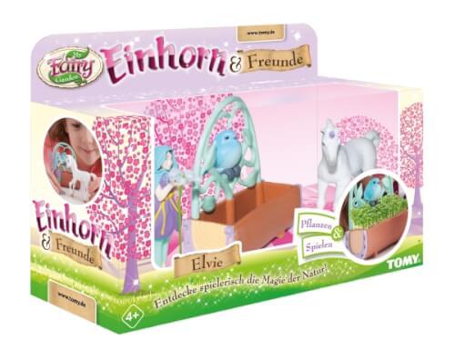 TOMY, My Fairy Garden, Einhorn & Freunde (mit Samen)
