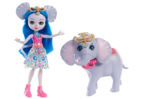 Mattel FKY73 Enchantimals Themenpack Ekaterina Elephant