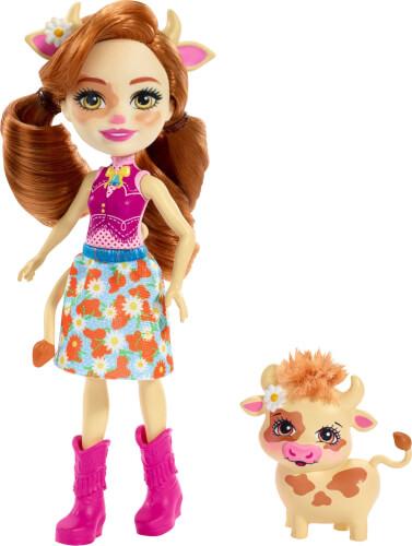 Mattel FXM77 Enchantimals Cailey Cow & Curdle