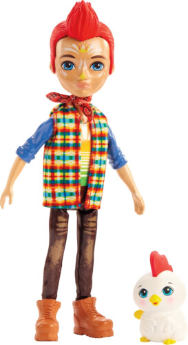 Mattel GJX39 Enchantimals Redward Rooster & Cluck