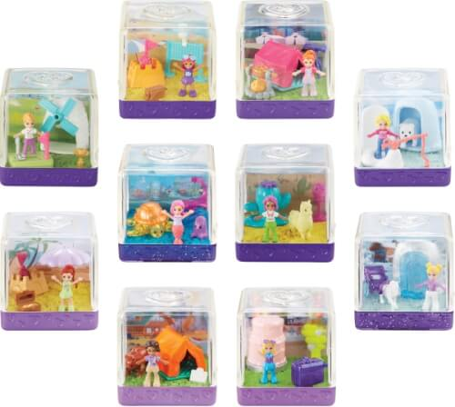 Mattel GKJ69 Polly Pocket Surprise Sand Diorama sortiert