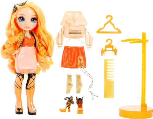 Rainbow Surprise Fashion Doll- Poppy Rowan