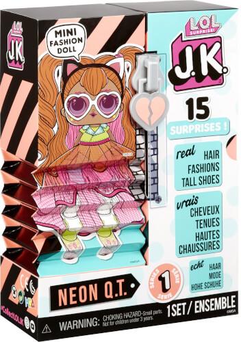 L.O.L. Surprise J.K. Doll- Neon Q.T.