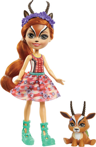 Mattel GTM26 Enchantimals Gabriela Gazelle