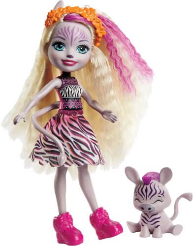 Mattel GTM27 Enchantimals Zadie Zebra