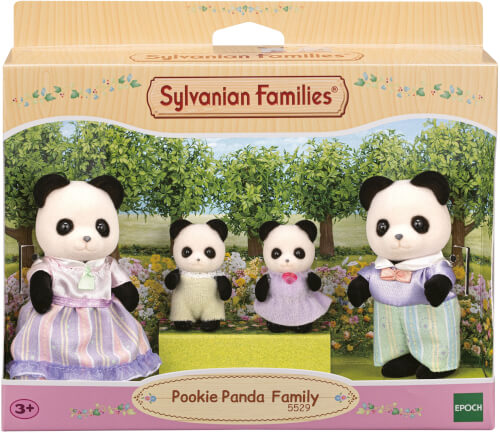 EPOCH Sylvanian Families 5529 Panda Familie