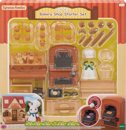 EPOCH Sylvanian Families 5536 Bäckerei Set für Starter Haus