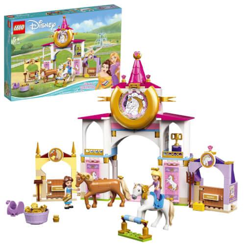 LEGO® Disney Princess 43195 Belles und Rapunzels königliche Ställe