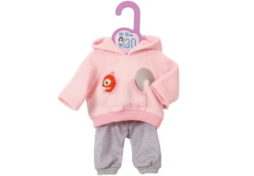 Zapf Dolly Moda Sport-Outfit Pink, Gr. 30cm