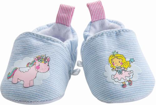 Puppen-Schuhe ''Einhorn Emil & Fee Emma'', Gr. 38-45 cm