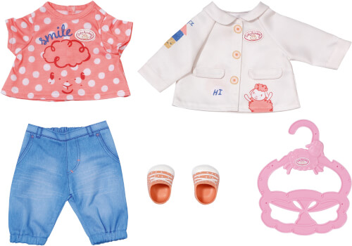 Zapf 704127 Baby Annabell Little Spieloutfit 36 cm