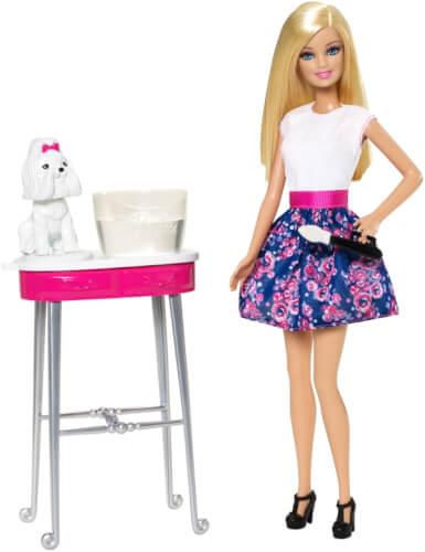 Mattel Barbie Farbspaß Tiersalon