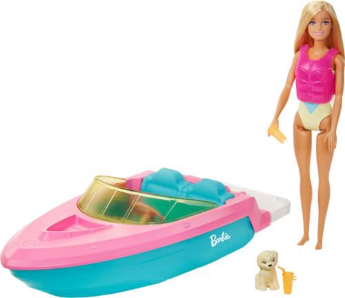 Mattel GRG30 Barbie Boot mit Puppe