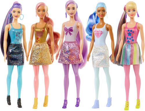 Mattel GWC55 Barbie Color Reveal Barbie Shimmer Series, sortiert