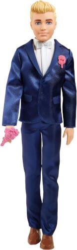 Mattel GTF36 Barbie Ken Bräutigam Puppe