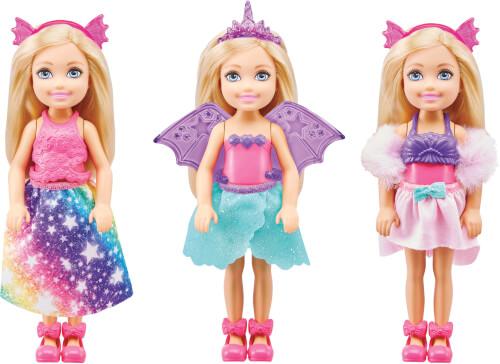 Mattel GTF40 Barbie Dreamtopia Chelsea Dress Up