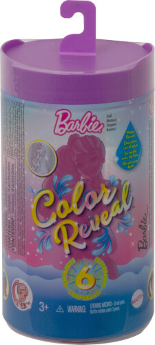 Mattel GWC59 Barbie Color Reveal Chelsea Glitzer Serie, sortiert