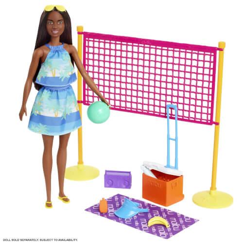 Mattel GYG18 Barbie Loves Volleyball Spielset