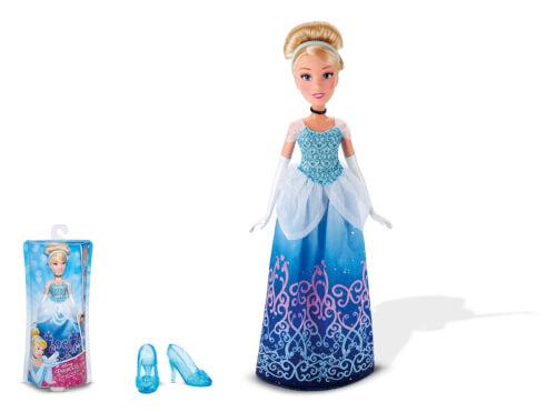 Hasbro B5288ES2 Disney Prinzessin - Schimmerglanz Cinderella, ca. 30 cm, ab 3 Jahren