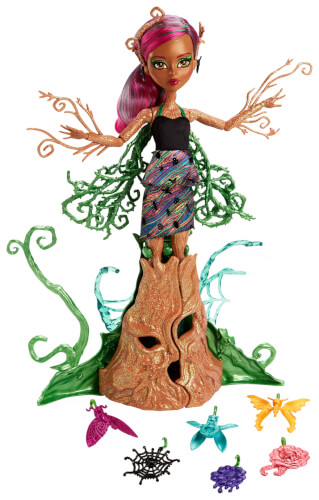 Mattel Monster High Garten-Monsterfreundinnen Treesa Thornwillow