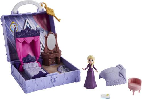 Hasbro E6859ES0 Disney Die Eiskönigin 2 Pop-Up Abenteuer Koffer Spiel-Set Elsas Zimmer