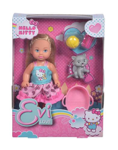 Hello Kitty Evi Love Animal, 2-sortiert.