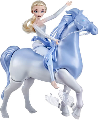 Hasbro E67165L0 Frozen 2 Wasserzauber & Landspaß Elsa & Nokk