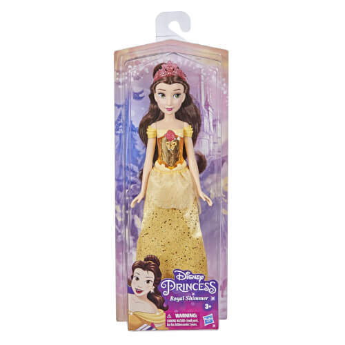 Hasbro F08985X6 Disney Prinzessin Schimmerglanz Belle