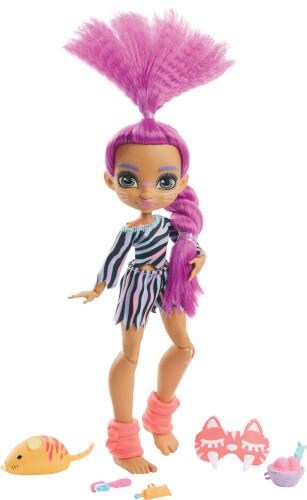 Mattel GTH02 Cave Club Pyjamapartyspaß Roaralai Puppe