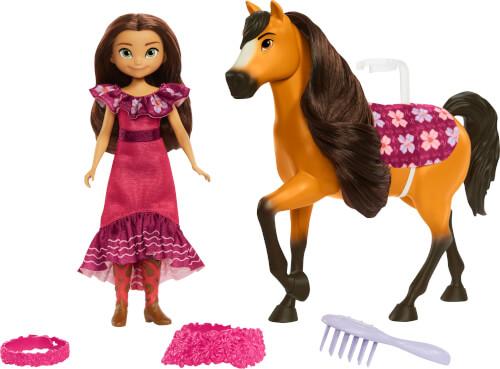 Mattel GXF63 Spirit Festival Puppe & Pferd - Lucky + Spirit