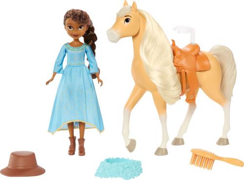 Mattel GXF64 Spirit Festival Puppe & Pferd - Pru + Chica Linda
