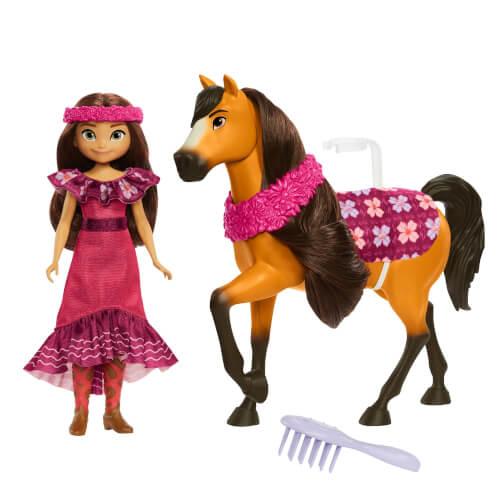 Mattel GXF62 Spirit Festival Puppe & Pferd, sortiert