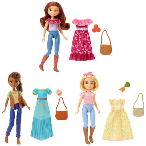 Mattel GXF16 Spirit Happy Trails Puppe & Fashions, sortiert