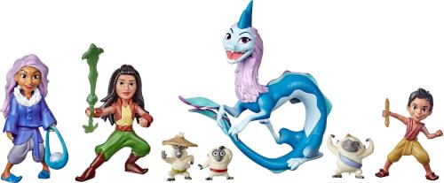 Hasbro E94745L0 Disney Princess Raya Kumandra Story Set