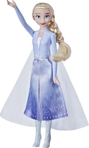 Hasbro F07965X0 Disney Frozen Schimmerglanz Elsa Modepuppe
