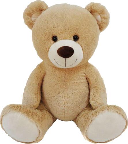 Plüsch-Teddy sitzend, ca. 90 cm