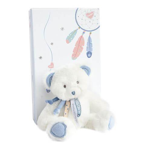 Doudou - Traumfänger Bär,blau 22cm