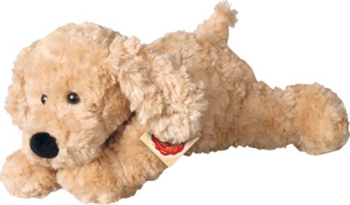 Teddy Hermann Schlenkerhund, beige, 28 cm