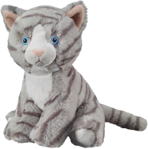 ECO-Line Katze getigert sitzend 20cm